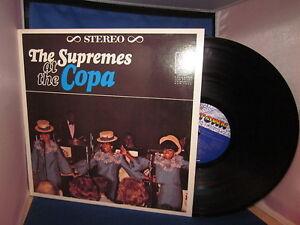 The Supremes At The Copa Record Album Ebay