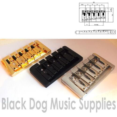 Qualität Fünf Saiten E-Bass Brücke in Chrom oder schwarz Gold BB105 SUNG Il 5