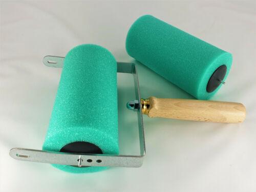 Abroller Malerwalzen Abrollapparat für Strukturwalze Malerrollen Ersatzrolle