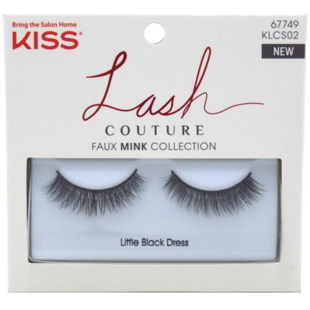 e14e9f892ef 6x Kiss Lash Couture Faux Mink Lashes Little Black Dress Eyelashes ...