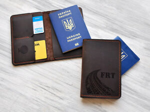 7c34995c6968 Details about Personalized Travel Wallet Engraved Passport Holder  Customized Passport Cover