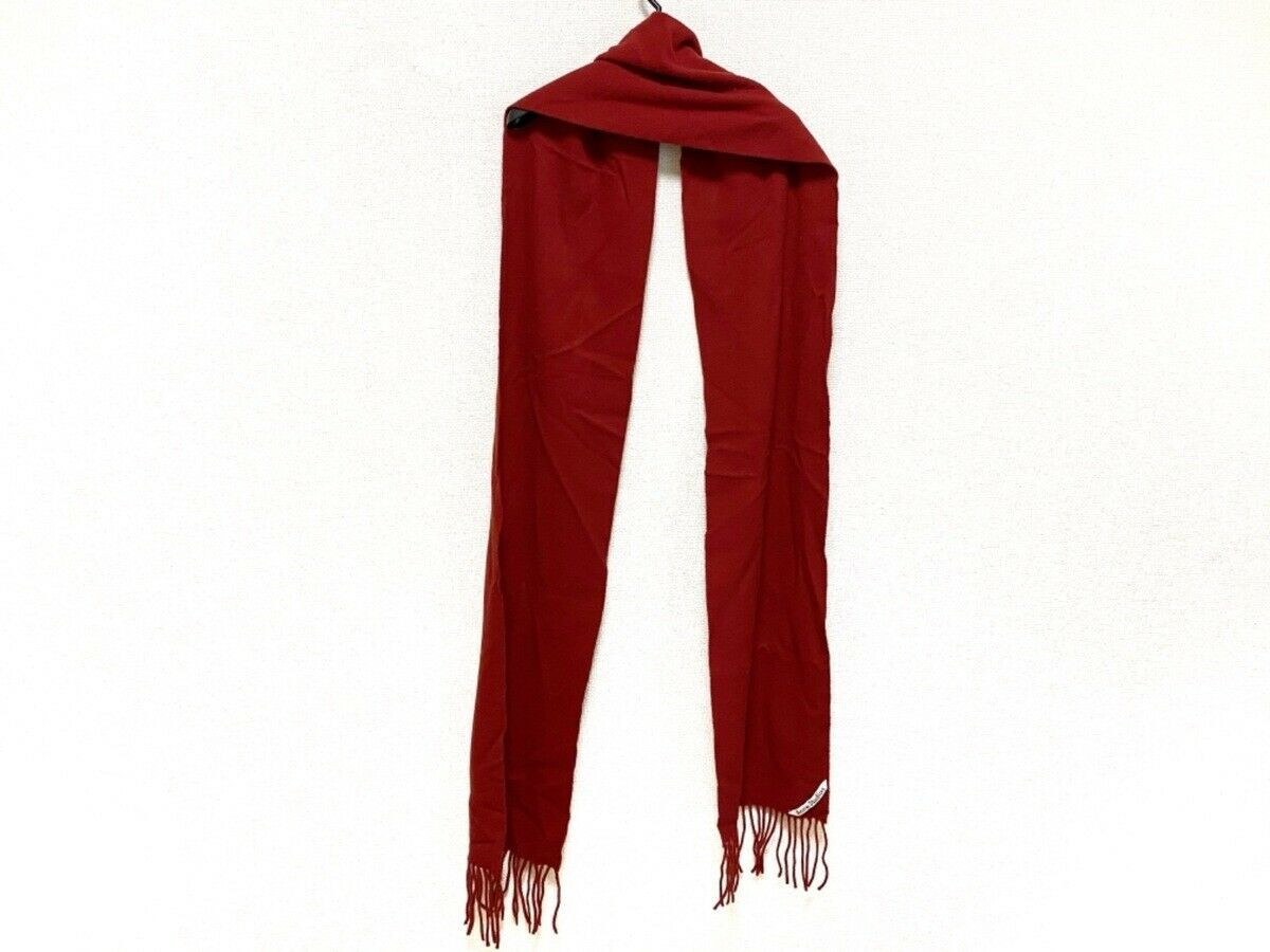 Auth ACNE STUDIOS Red Wool Scarf - image 2