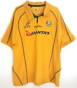 Maillot Polo de Rugby Australia Wallabies Kooga Saison 2000 Taille 3XL
