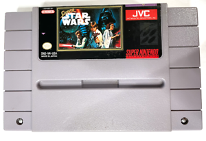 Super Star Wars SUPER NINTENDO SNES Game Cartridge - Tested & Working! AUTHENTIC