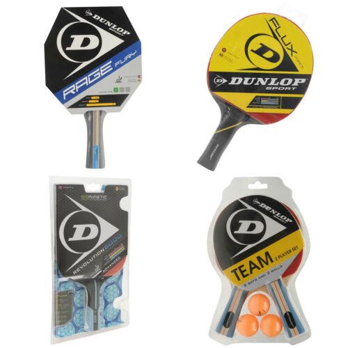 DUNLOP//Carlton tennis de table mixte Chauves-souris Balles Filets Neuf