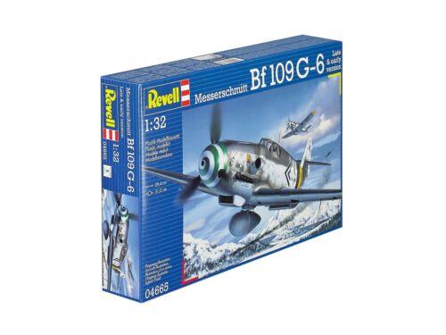 04665 Messerschmitt Bf109 G-6 1:32 Model Kit Revell