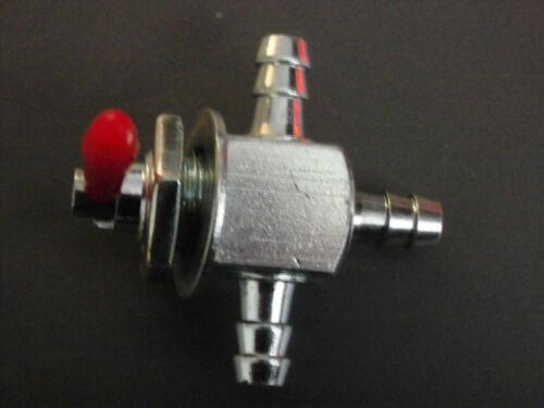 Benzinhahn 3 Wege mechanisch Motorrad Tank universal ON OFF ON fuel tap petcock