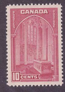 Canada 241a MNH 1938 10c Carmine Rose Memorial Chamber Parliament Bldg Ottawa