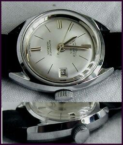 GE VINTAGE SWISS MADE wristwatch AUTOMATIC SUB FASHION LADY 80-90 NOS NEW OLD S-  mostra il titolo originale - Italia - GE VINTAGE SWISS MADE wristwatch AUTOMATIC SUB FASHION LADY 80-90 NOS NEW OLD S-  mostra il titolo originale - Italia