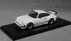 Kyosho-Porsche-911-930-carrera-2-7-en-Blanco-1975-05521W-1-43-nuevo-PVP-79-99