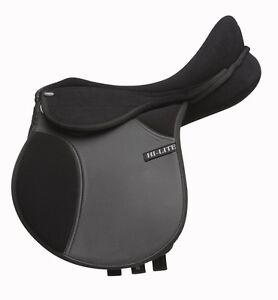 Shires-hi-lite-self-adjust-synthetic-gymkhana-pony-gp-saddle