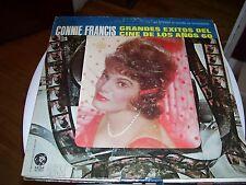 CONNIE FRANCIS-GRANDES EXITOS DEL CINE DE LOS ANOS 60-LP-NM-DISC JOCKEY COPY-MGM