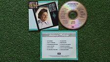Latin Copla Flamenco ANTONIO MOLINA **Voces De Oro** VERY SCARCE 1988 Spain CD