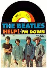"""The Beatles """"Help/I'm Down"""" 7"""" 5476 John Lennon Paul McCartney"""