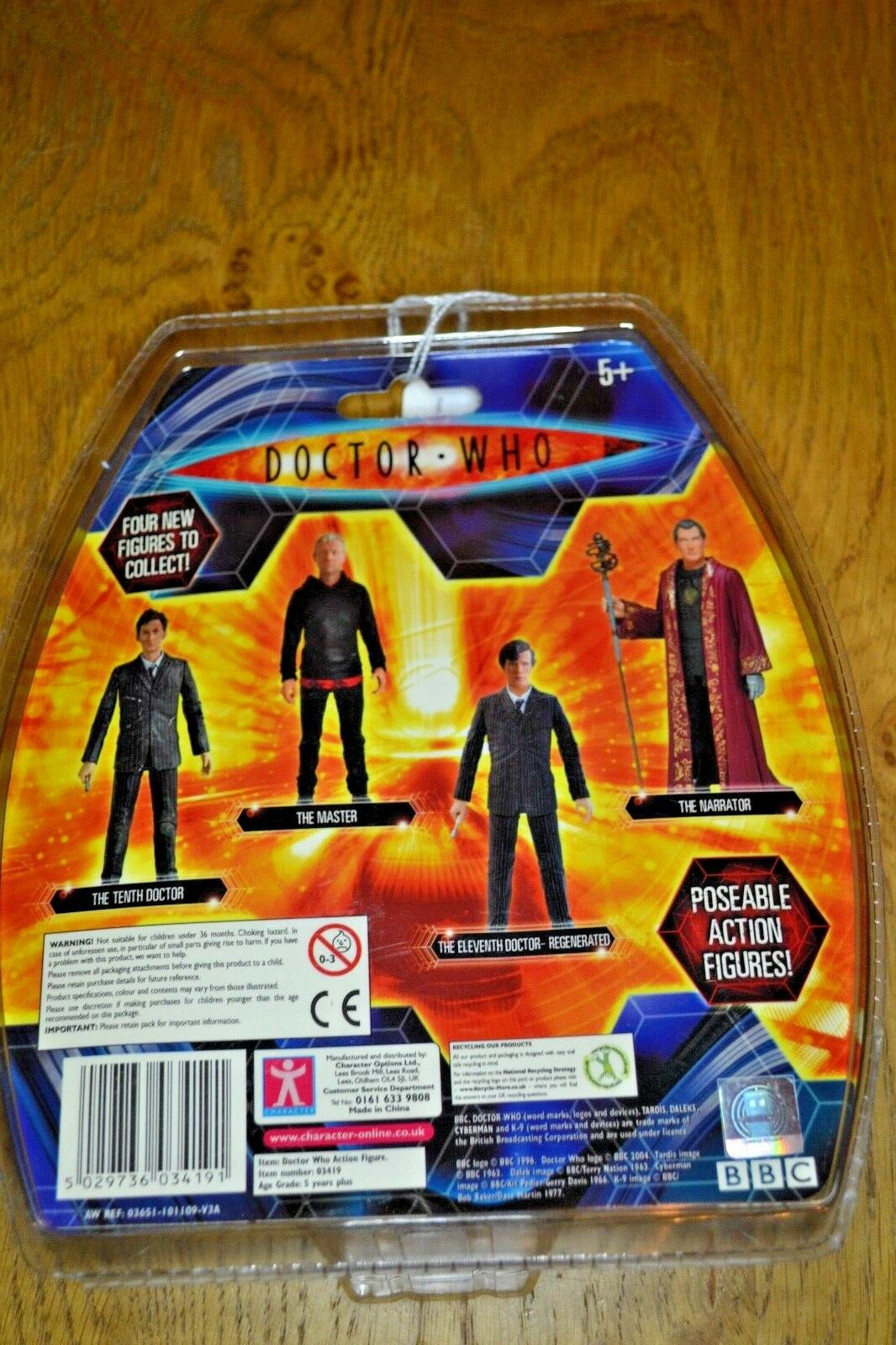 Modern Modern Modern Vintage Dr Who Action Figure The Tenth Doctor; Factory Sealed 67ff69