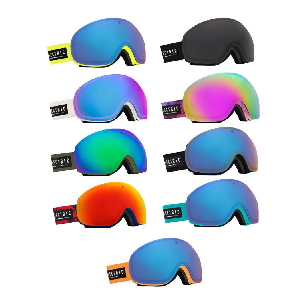 Electric EG3 Snowboard Ski Goggles 2015 Frameless Interchangeable lenses