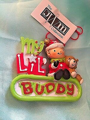 Buddy The Elf Christmas Ornament//Magnet//DHM Oh My God Santa Is Coming