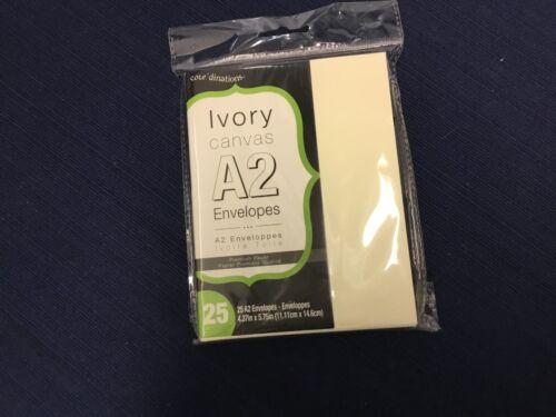 Envelopes packs A2  Ivory Kraft White  NIP Core/'dinations Envelopes Cards