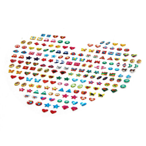 31 Girls Stick on Earrings Sheet Party Bags Filler Adhesive Stud Pair Sticky