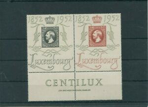Luxembourg-Vintage-Yearset-1952-Mi-488-489-Neuf-MNH-Plus-Sh-Boutique