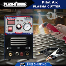 Cut50 Pilot Arc Air Plasma Cutter Machine Dc Inverter 50a 110220v Amp P80 Torch