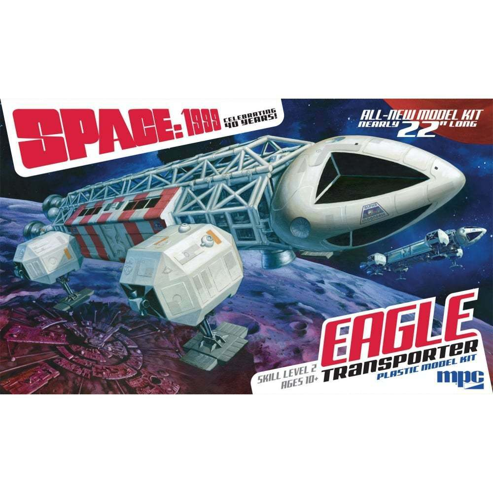 MPC Space  1999 Eagle Transporter - 1 48 Scale Model Kit - 22  Long - MPC825