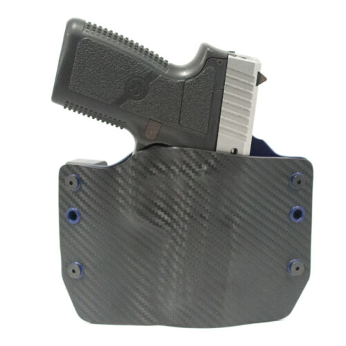 OWB Kydex Holster Navy Blue Diamondback FN CZ Colt