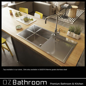 316-Stainless-Steel-900-450-220-with-drainer-top-mount-drop-in-kitchen-sink