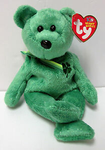 Image is loading Ty-Beanie-Baby-RARE-Dublin-St-Patrick-039- 0c3dfafd2df