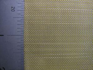 CompéTent #30 - Laiton Tissé Maille - 0.57 Mm-ouverture - 0.28 Mm Fil-a1 Sheet (841 X 594 Mm)-afficher Le Titre D'origine