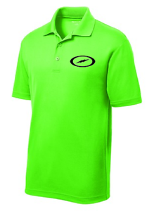 Storm Men's Punch Out Performance Polo Bowling Shirt Dri-Fit Neon Green