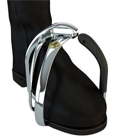 STS hierros 4.75 Innovated Tech inglés estribos ángulo de pie flexible Post ALUMINM