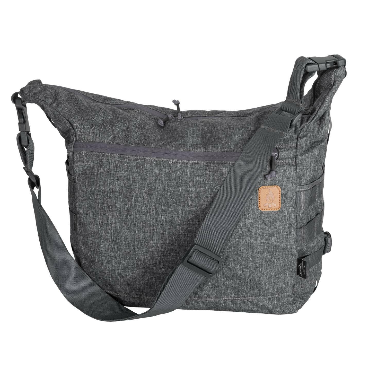 HELIKON Tex Satchel Bushcraft Outdoor Camping Shoulder Tasche Melange grau