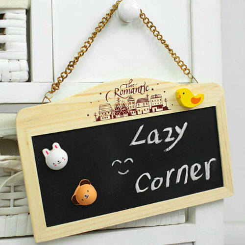 Mini Chalkboard Memo Board Blackboard Menu Shopping List Charity Item Home Gift