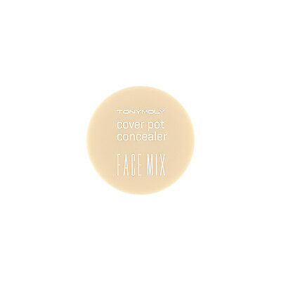 [TONYMOLY] New Face Mix Cover Pot Concealer 4g 2 Colors Pick One! Beige