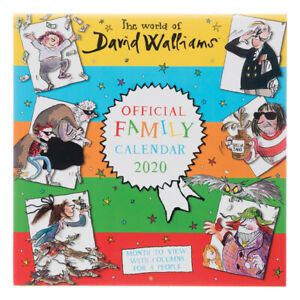 2020-Official-Family-Calendar-The-World-of-David-Walliams-by-Danilo-Free-Post