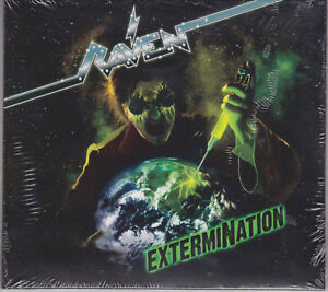 RAVEN-2015-CD-ExtermiNation-1-Ltd-Digi-Grim-Reaper-Diamond-Head-Saxon-NEW