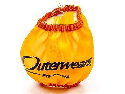 """Outerwear 10-1004-01 14/""""x 5/"""" Black Air Filter Pre Filter IMCA Dirt"""