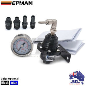 BLACK-EPMAN-Fuel-Pressure-Regulator-FPR-800-LS1-VK-VL-VN-VP-VS-VR-VT-VX-VY-VE-VF