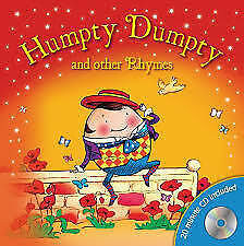 Humpty-Dumpty-and-Other-Rhymes-Carryboard-and-CD-Very-Good-Book