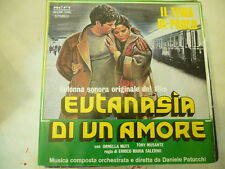 "DANIELE PATUCCHI""EUTANASIA DI UN AMORE-disco 45 giriRIFI 1978 SOUNDTRACK"""