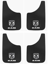 4 PK Dodge Ram Logo 11x19 Inch Mud Flaps Splash Guards for Truck SUV Van and Car