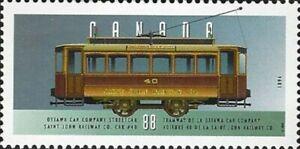Canada    # 1527e   1894  STREET CAR    Brand New 1994 Original Pristine Gum