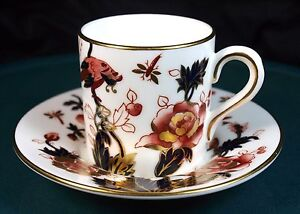 Coalport-Hong-Kong-Coffee-Cans-amp-Saucers-7708-NEW-1st-Quality