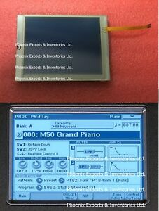 Details about New &Original Korg LCD Screen +Touch screen digitizer for  Korg M50 Display