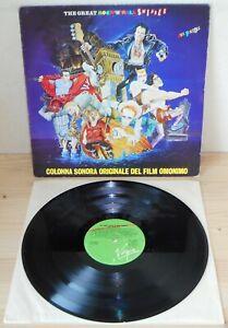 LP-SEX-PISTOLS-The-great-rock-039-n-039-roll-swindle-OST-Virgin-80-ITALY-1st-ps-VG