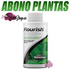 ABONO PARA ACUARIO FLOURISH DE SEACHEM ABONOS PLANTAS ACUARIO PECERA PECES