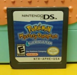 Pokemon-Mystery-Dungeon-Blue-Nintendo-DS-DS-Lite-3DS-2DS-Game-Works-Authentic
