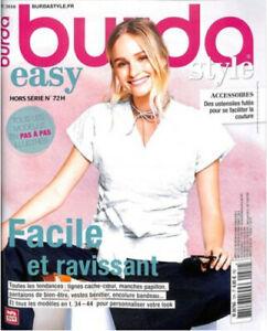 Magazine Burda Easy Printemps-été 2018 N°72 H pG9KKSLL-09173440-281551867
