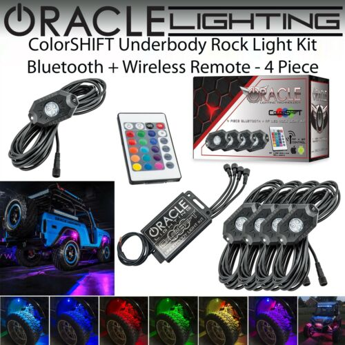 ORACLE Universal Bluetooth LED ColorSHIFT Underbody Rock Light Kit *4 or 8 Piece